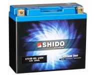 Afam Zubehör Shido Lithium lonen Batterie YT14B-BS