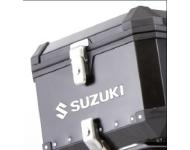 """SUZUKI Zubehör 4 Schlösser - """"Alu Box"""" Seitenkoffer"""