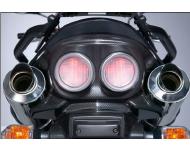 SUZUKI Zubehör Rücklichtabdeckung, Carbon Optik