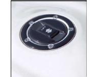 SUZUKI Zubehör Tankdeckelschutz, Carbon Optik
