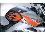 SUZUKI Zubehör Tankschutzfolie Flammendesign