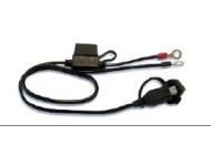 SUZUKI Zubehör Batterie-Anschlusskabel für OptiMate 3+