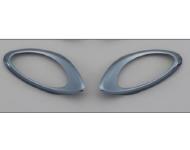 SUZUKI Zubehör Blinkerabdeckung, hinten, Dunkel-Chrom