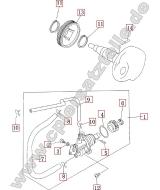 Blinker Yamaha XT600Z//E LANG VR-HL 3AJ-83320-20,